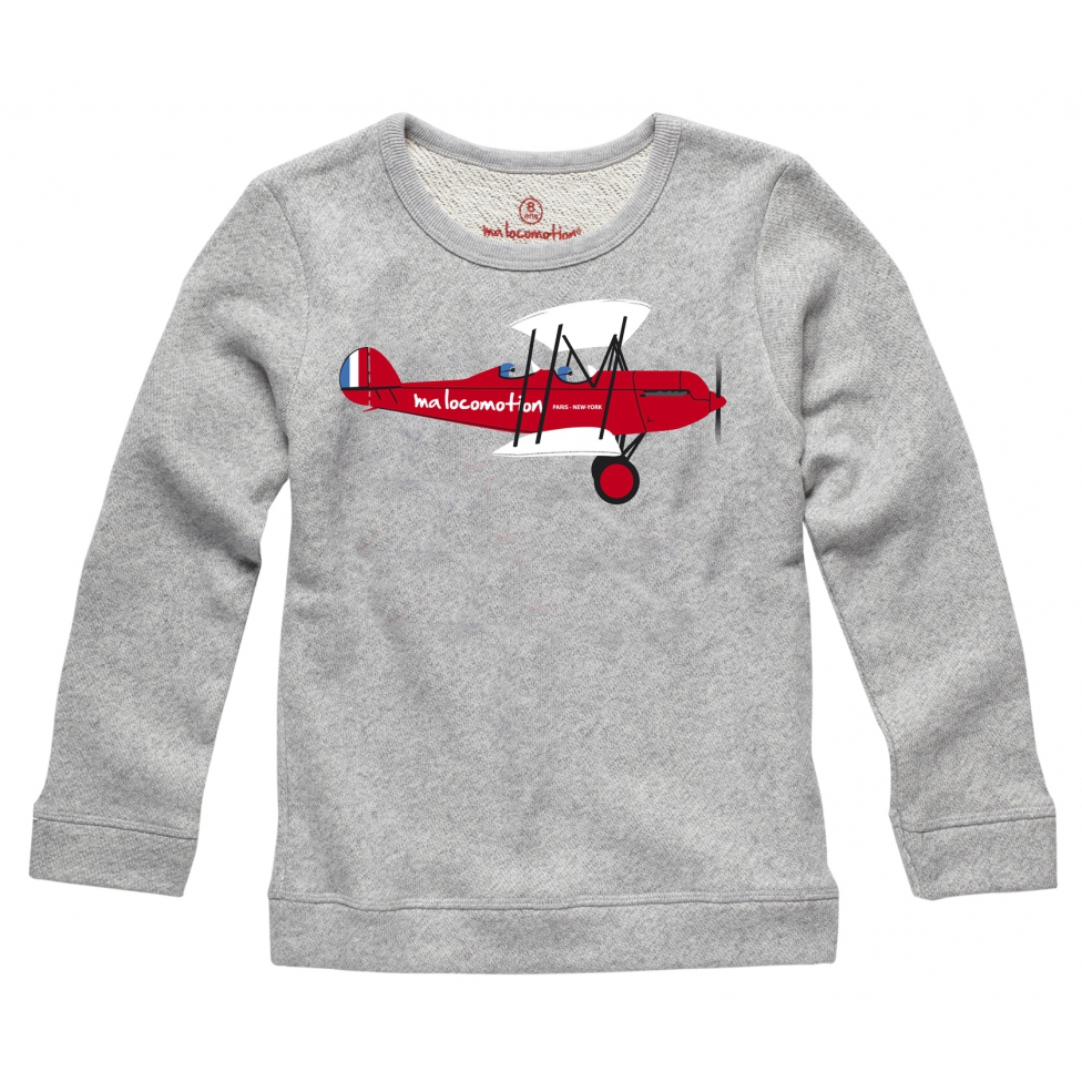 Sweat shirt avion
