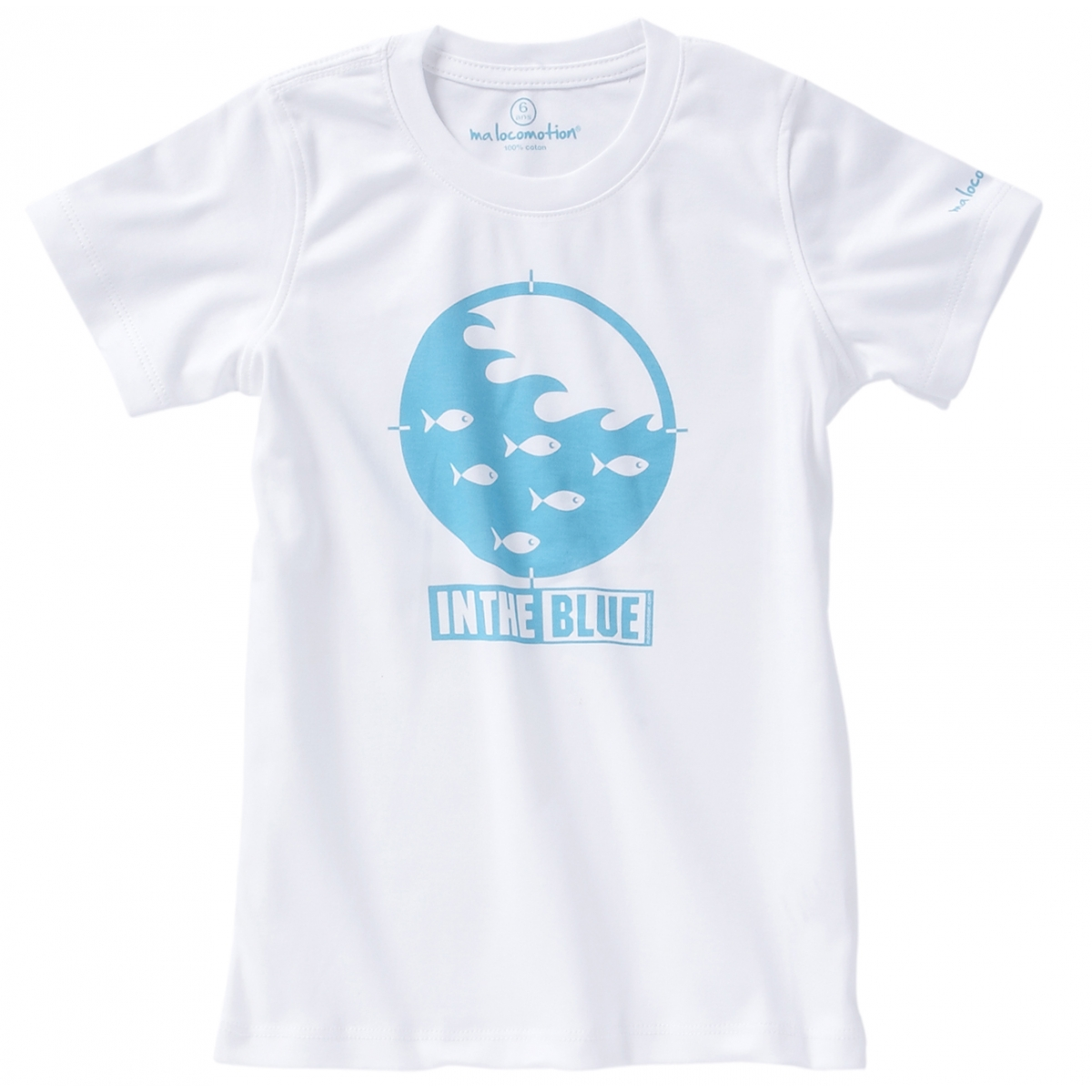 T-shirt in the blue