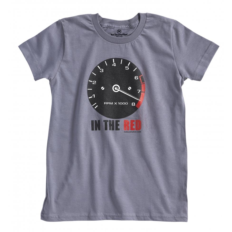 T-shirt compte-tours vintage manches courtes