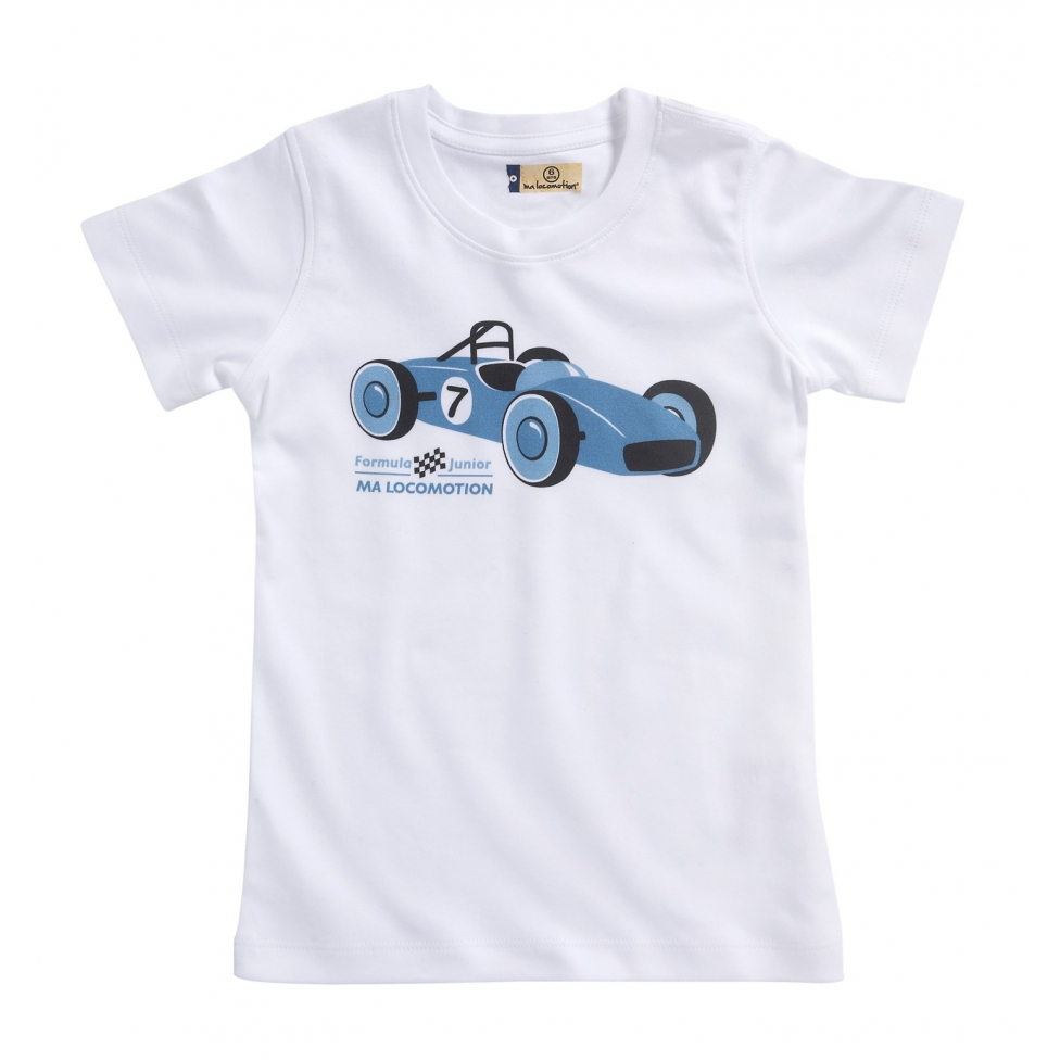 Formula Junior t-shirt- white
