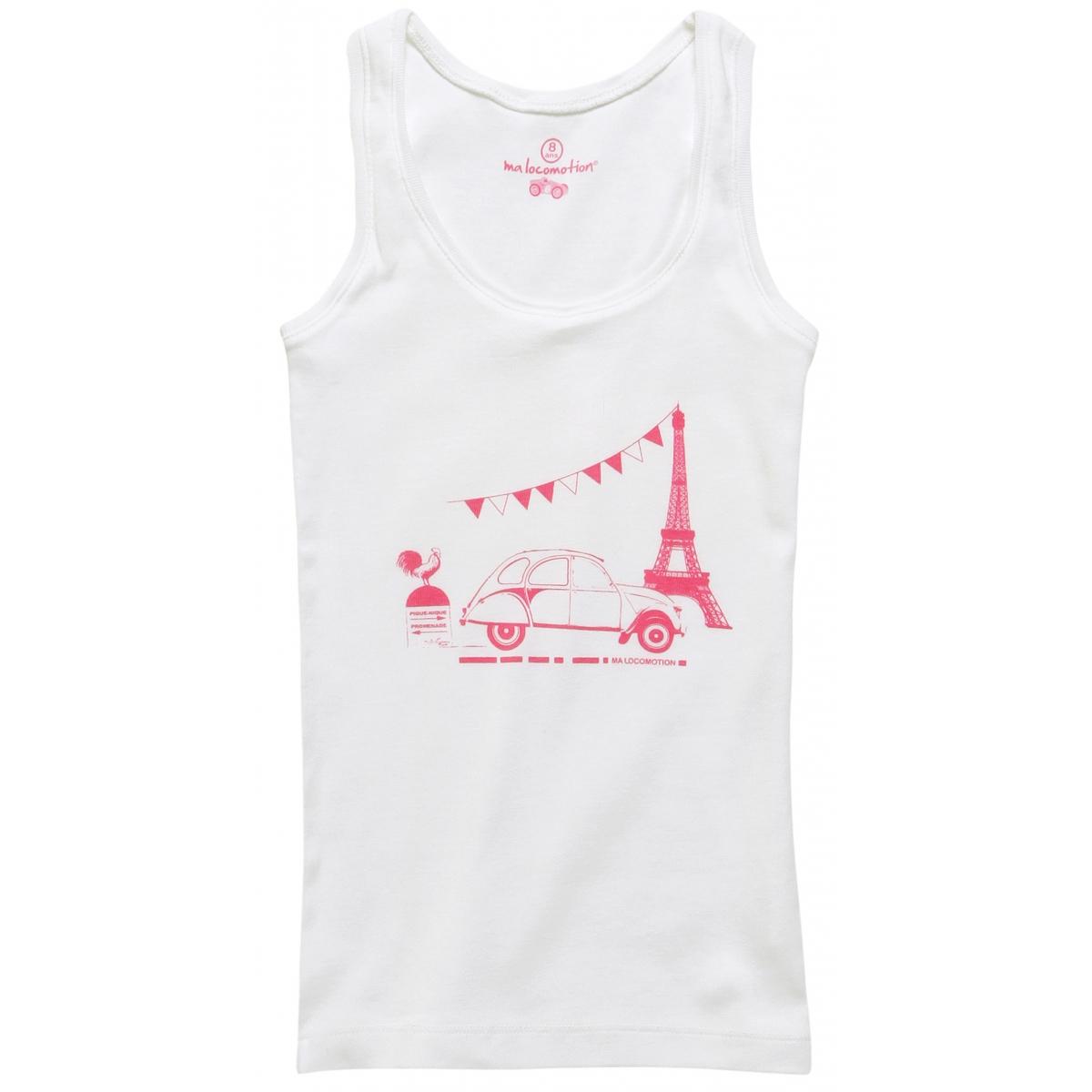 Débardeur 2CV Paris Tour Eiffel