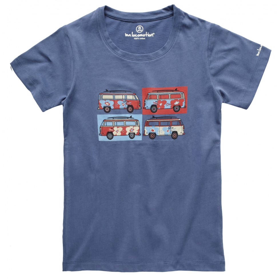 Camper van t-shirt for kids