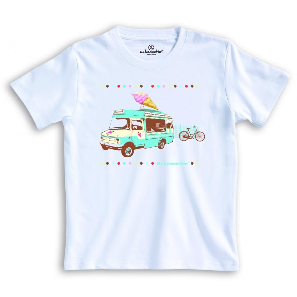 T-shirt camion du glacier