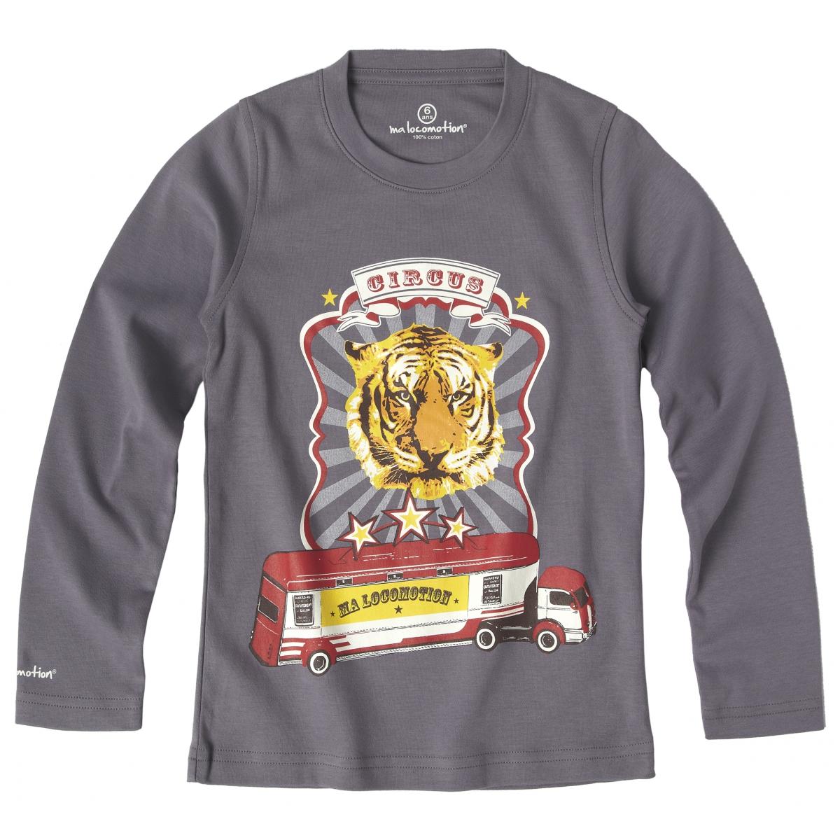 Circus T-shirt - anthracite