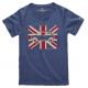 Austin Mini Union Jack t-shirt - blue grey