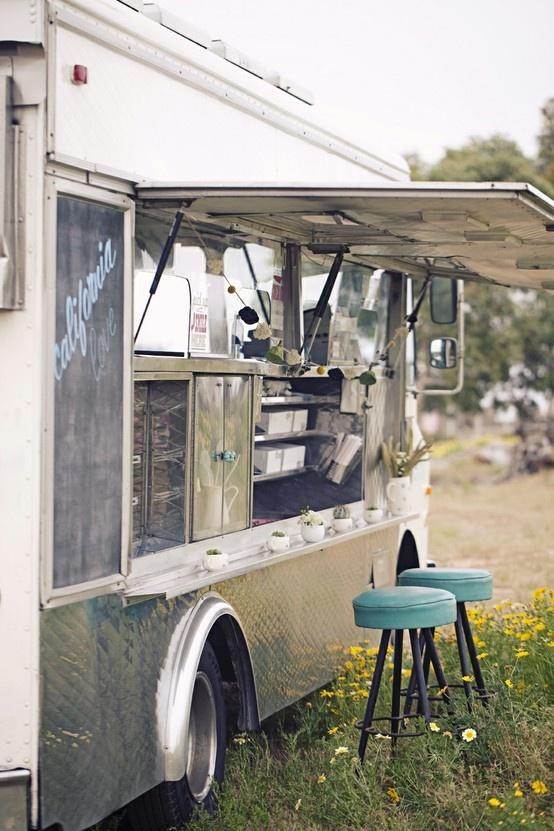 Food truck rétro