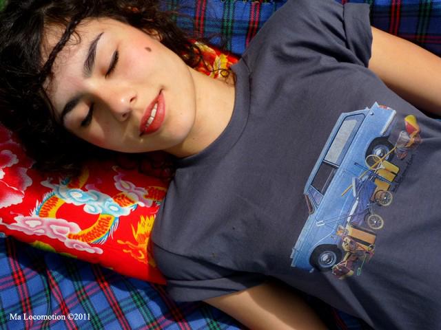 Tee shirt rétro Triumph Herald Ma locomotion