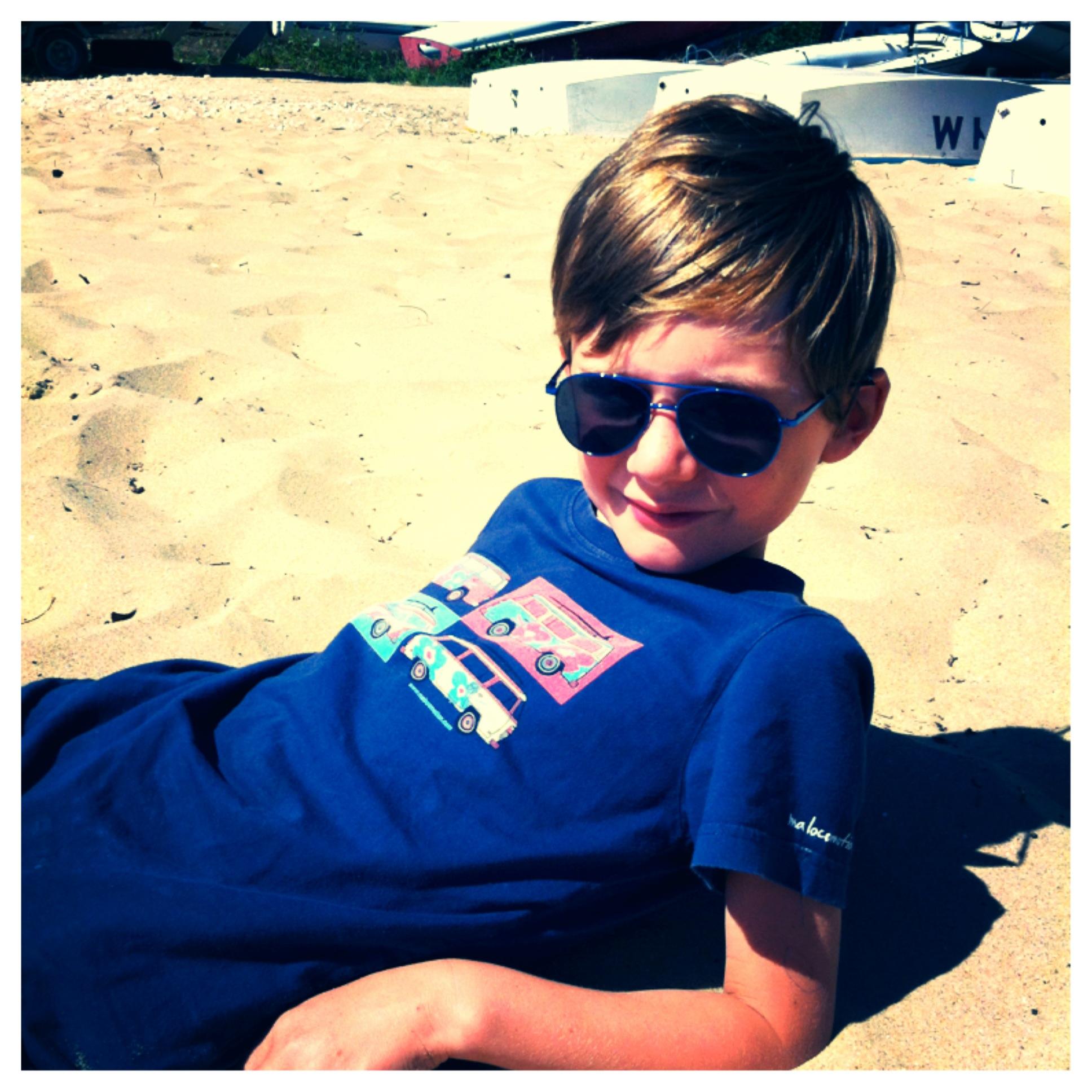 T-shirt combi surf