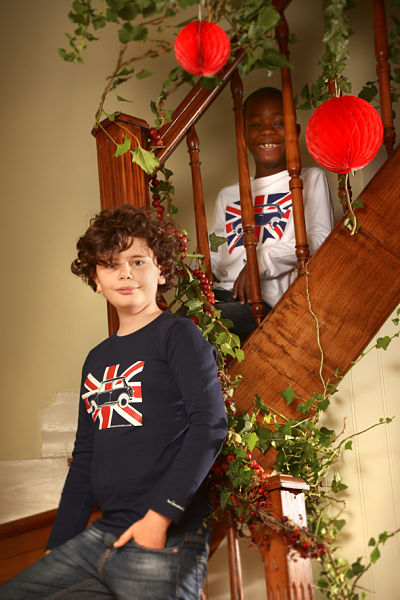 T-shirts austin Mini Union Jack Ma Locomotion
