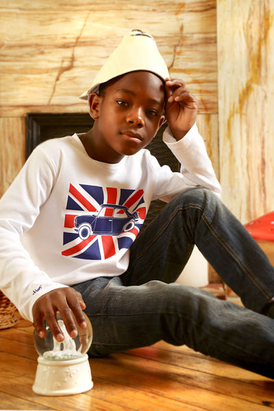 T-shirt Austin Mini Union Jack Ma Locomotion