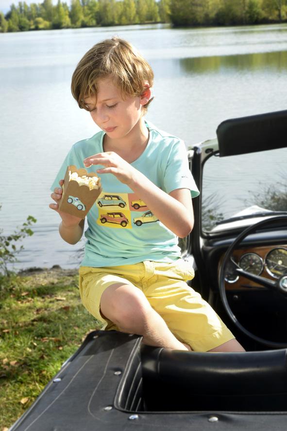 tee shirt couleur menthe à l'eau Ma Locomotion