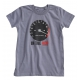 Short sleeves vintage rev-counter t-shirt for kids - slate grey