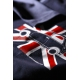 T-shirt marine Austin Mini drapeau anglais