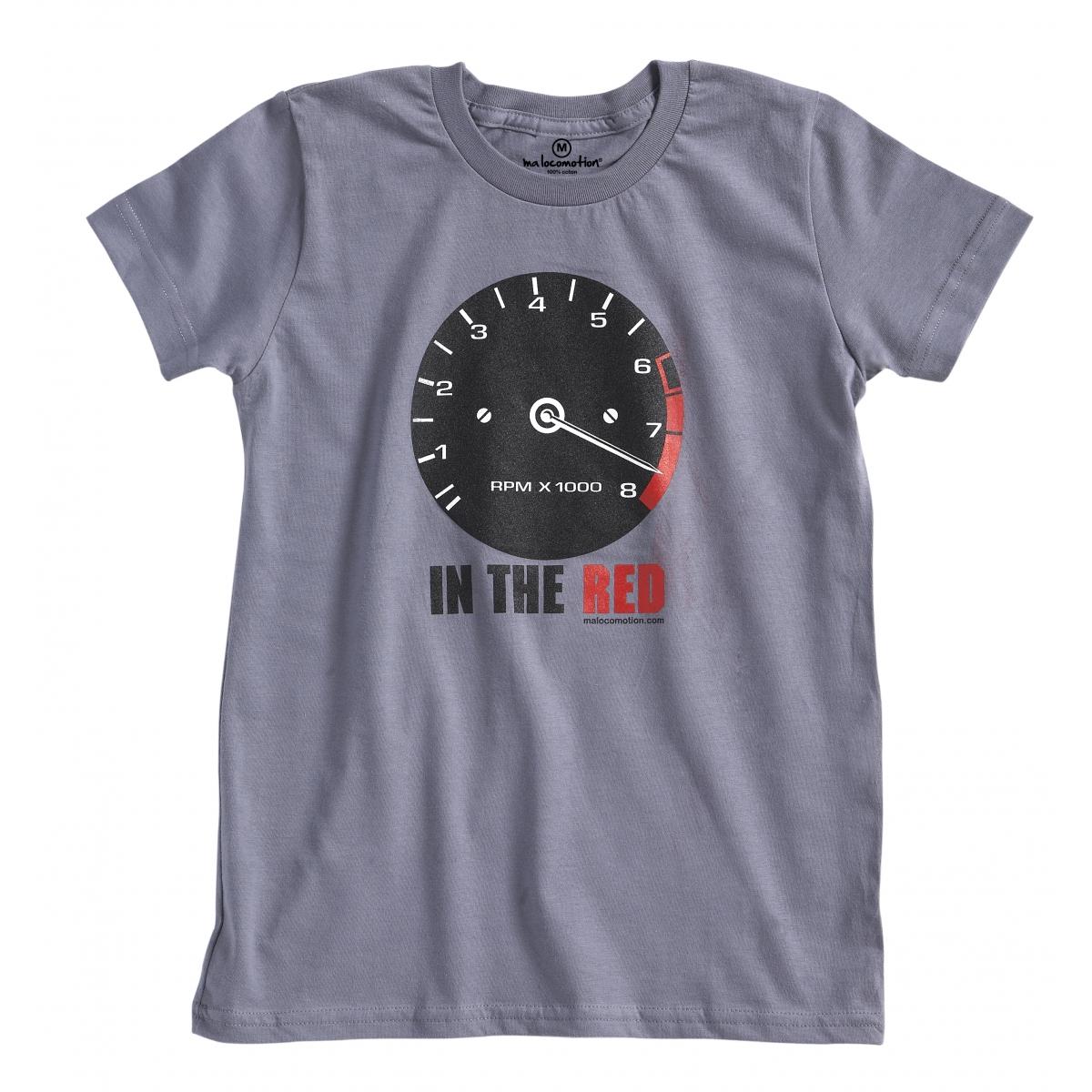 T-shirt compte-tours vintage