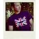 T-shirt Austin Mini Union Jack marine manches courtes