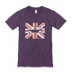 Shorts sleeves Austin Mini Union Jack t-shirt