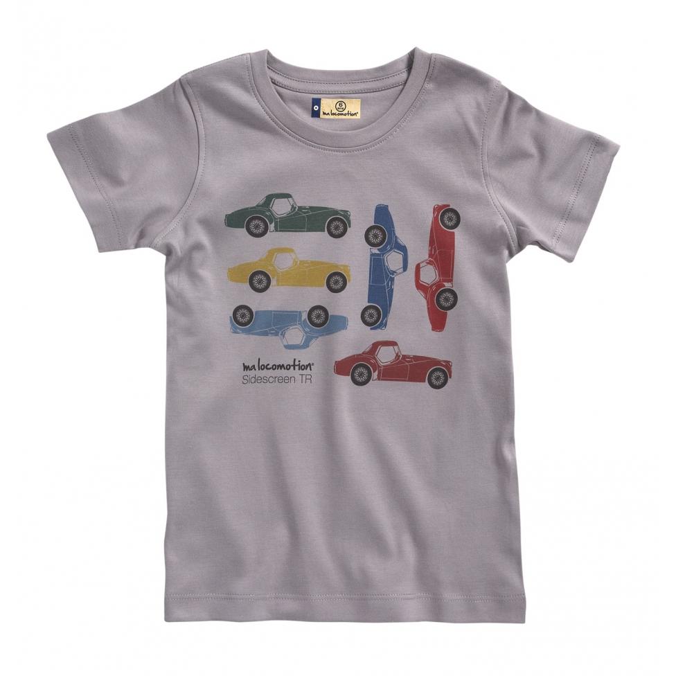 T-shirt TR3 gris pale