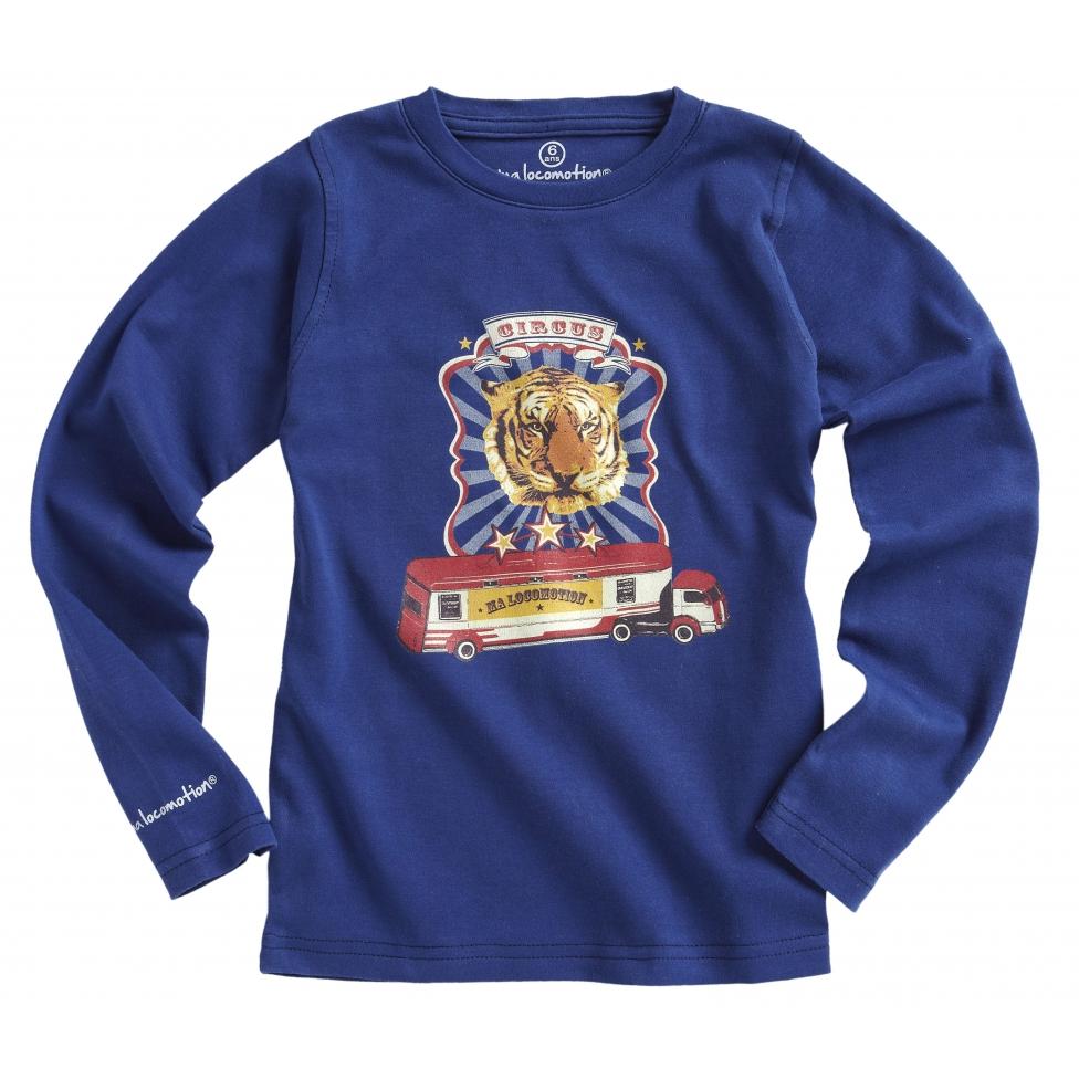 Circus T-shirt - cobalt blue