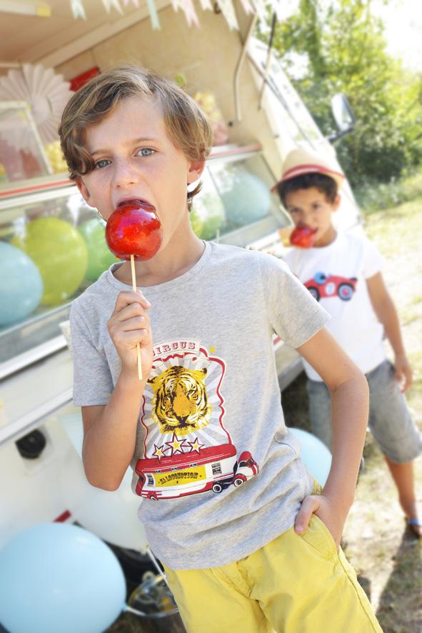Pommes d'amour et sucre candy