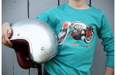 Easy rider : the motorcycle t-shirt