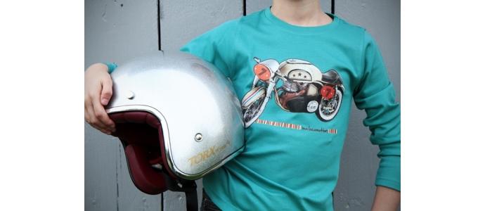 Easy rider : le t-shirt moto vintage